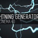 Lightning Generator – Free Cinema 4D Plugin