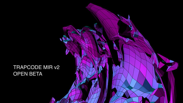 After Effects Trapcode Mir v2 - Free Beta Download
